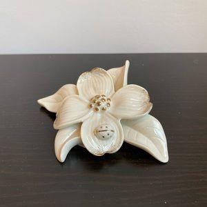 Lenox darling dogwood flower ivory fine porcelain